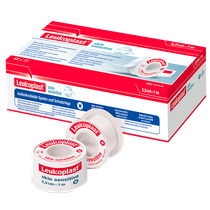 Fita Adesiva de Silicone Leukoplast Skin Sensitive Carretel - 2,5cm x 1m - ESSITY