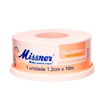 Fita Cirúrgica Microporosa Bege 1,2cm x 10m - MISSNER