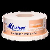 Fita Cirúrgica Microporosa Bege 1,2cm x 4,5m - MISSNER