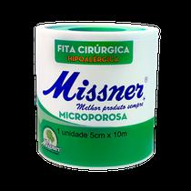 Fita Cirúrgica Microporosa Branca 5cm x 10m - MISSNER