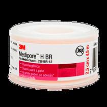 Fita Médica Suave Medipore H 2861BR-4.5 - 2,5cm x 4,5m