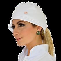 Gorro - Estilo Bandana Branca em Piquet