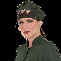Gorro Premium com Elástico Verde Militar  - DENTAL SPEED