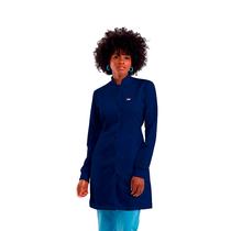 Jaleco Basic Feminino Azul Marinho - DRA. CHERIE