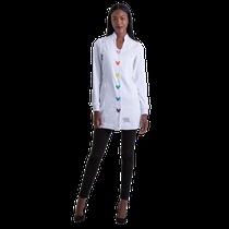 Jaleco Fashion Button