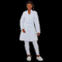 Jaleco Feminino Biosafety Branco - FUN WORK
