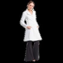 Jaleco Feminino Couture Oncinha - Off White