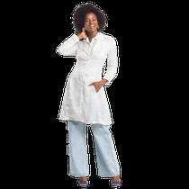 Jaleco Feminino Couture Zebra - Off White