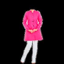 Jaleco Premium - Gola Padre - Rosa Pink