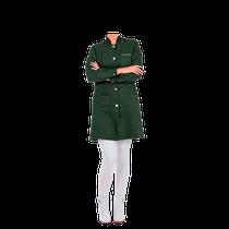 Jaleco Premium - Gola Padre - Verde Militar