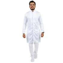 Jaleco Masculino Lord - Branco