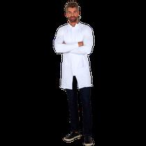 Jaleco Masculino Powerflex Antiviral Branco - EG - FUN WORK
