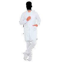 Jaleco Masculino Premium - Gola Padre - Branco