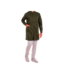 Jaleco Masculino Premium - Gola Padre - Verde Militar