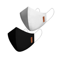 Kit 2 Máscaras Tripla em Tecido Viroblock - MALWEE