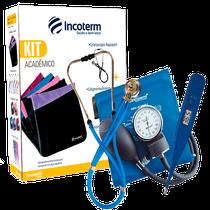 Kit Acadêmico Incoterm KA 100 Azul
