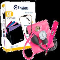 Kit Acadêmico Incoterm KA 100 Pink