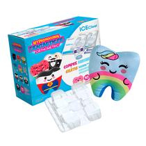 Kit Bráquete Cerâmico Ice Clear Roth 0,022 02 Casos + Elásticos + Almofada Dentásticos - ORTHOMETRIC