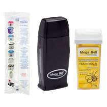 Kit Cera Matic Roll-On Preto