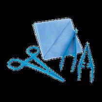 Kit Curativo Estéril Plástico Descartável