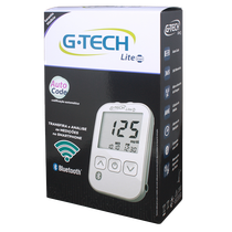 Kit Medidor de Glicose Lite Smart - G-Tech