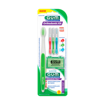 Kit Ortodôntico p/ Higiene Bucal - GUM