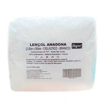 Lençol Descartável com Elástico 2,00 x 0,90m Branco - ANADONA