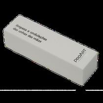 Lixa para Acabamento de Unha Cubo Branca WB-10