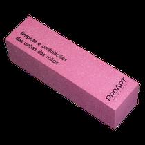 Lixa p/ Acabamento de Unha Cubo Rosa WB-11