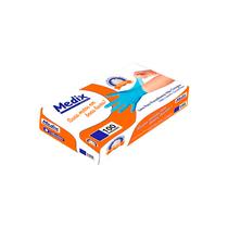 Luva Nitrílica para Procedimento sem Pó Azul - MEDIX