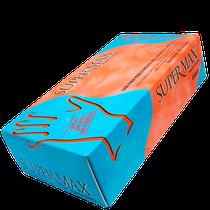 Luva Nitrílica para Procedimento sem Pó Azul - SUPERMAX
