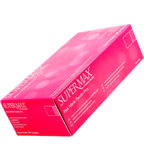 Luva Nitrílica Pink - SUPERMAX