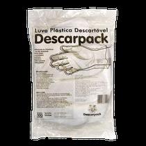 Luva Plástica Descartável - DESCARPACK