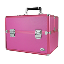 Maleta Profissional de Maquiagem G - Pink BJH17316 - JACKI DESIGN