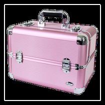 Maleta Profissional de Maquiagem G - Rosa BSB14126