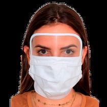 Máscara em Tecido com Viseira - DONA FILÓ