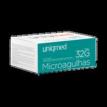 Microagulha 4mm 32g - UNIQMED
