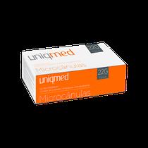 Microcânula 50mm - 22g - UNIQMED