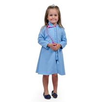Jaleco Infantil Queen - Azul