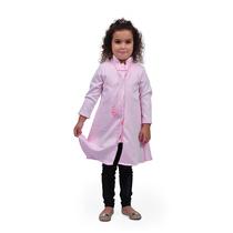 Jaleco Infantil Queen - Rosa