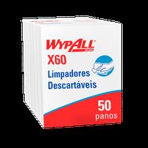 Pano Multiuso Wypall X60 Quarterfold - 34cm x 29cm - KIMBERLY CLARK