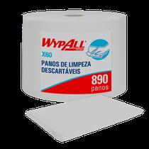 Pano Multiuso X60 Rolo Jumbo Wypall - 28,3cm x 28,9cm - KIMBERLY CLARK