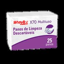 Pano Multiuso X70 Plus Wypall - 39,5cm x 58,5cm - KIMBERLY CLARK