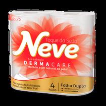 Papel Higiênico Dermacare Folha Dupla Rolo - 30m - NEVE