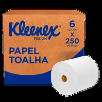 Papel Toalha Kleenex Airflex Folha Dupla - 6 x 250m - KIMBERLY CLARK