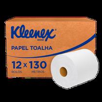 Papel Toalha Airflex Folha Simples Rolo - 12 x 130m - KLEENEX