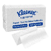 Papel Toalha Airflex Supreme Kleenex Folha Simples - 150 Folhas - KIMBERLY CLARK