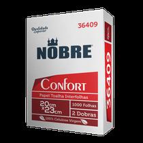 Papel Toalha Interfolha Nobre Confort 2 dobras 20x23cm c/ 1000 folhas