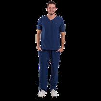 Pijama Cirúrgico Masculino Basic Azul Marinho - DRA. CHERIE