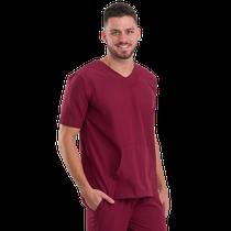 Pijama Cirúrgico Masculino Basic Bordo - DRA. CHERIE